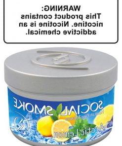 Thuốc shisha Arctic Lemon của Social Smoke